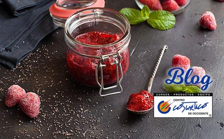 Mermelada de fresa con chía